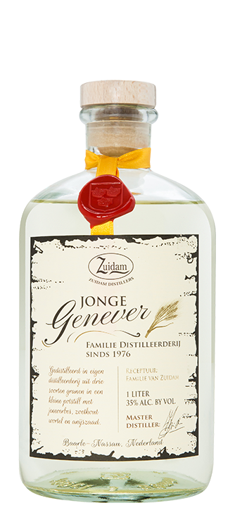 Zuidam Gin Jonge Genever 35% 6x70cl