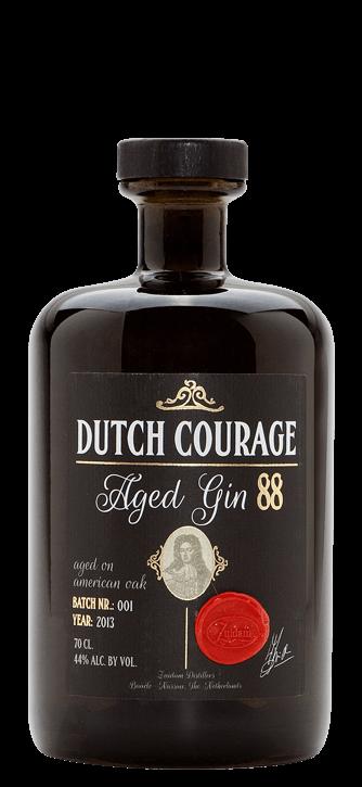 Zuidam Gin Dutch Courage Aged Gin 44% 6x70cl