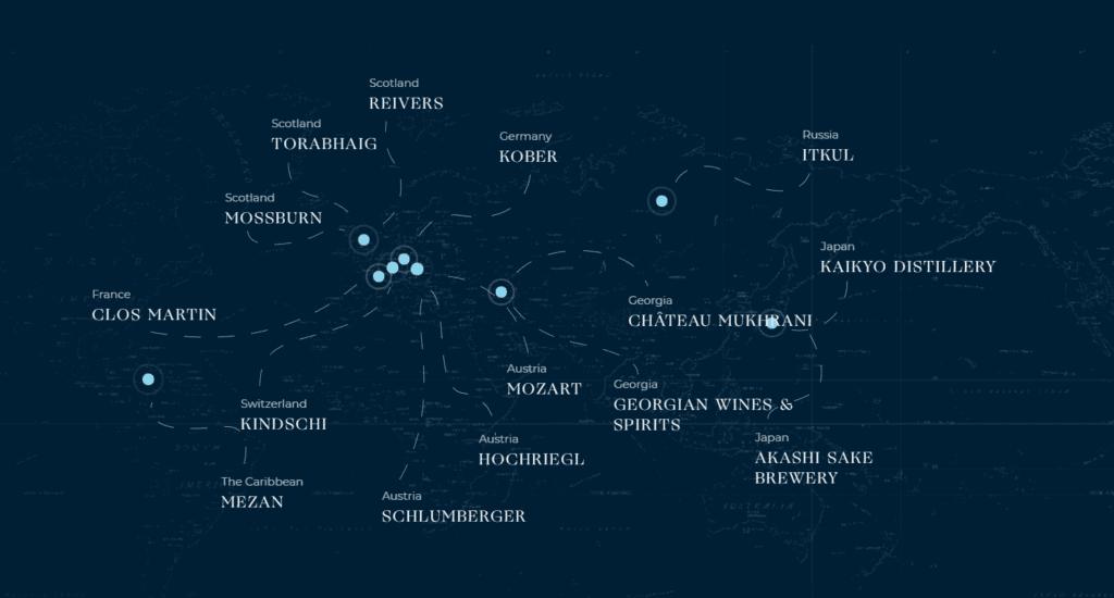 Distribution locations