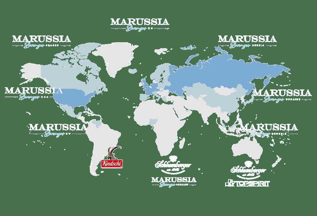 Marussia Distribution Map