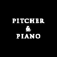 pitcher&piano